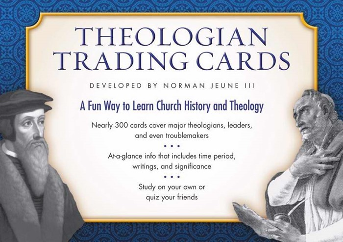 Theologian Trading Cards (General Merchandise)