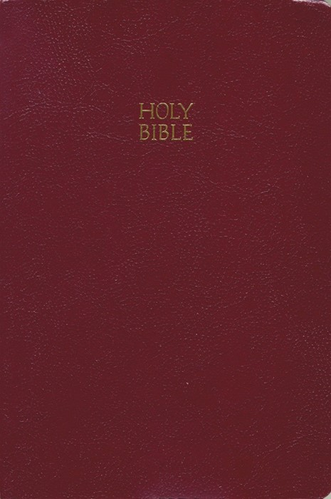KJV Giant Print End-Of-Verse Reference Bible (Paperback)