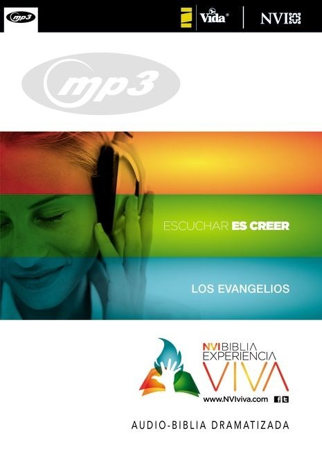 La Nvi Experiencia Viva, Los Evangelios, Mp3 (CD-Audio)