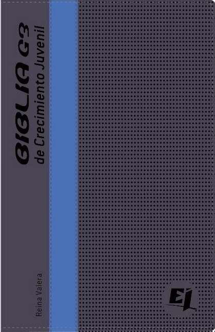 Biblia G3 De Crecimiento Juvenil Rvr (Leather Binding)