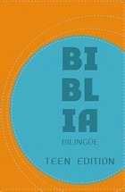 NVI/NIV Biblia Bilingue - Teen Edition (Leather Binding)