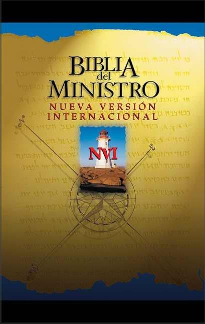 Biblia Del Ministro Nvi (Leather Binding)