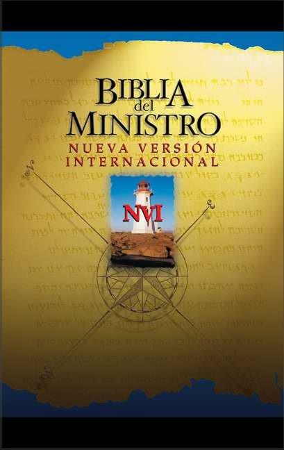 Biblia Del Ministro Nvi Con indice (Leather Binding)