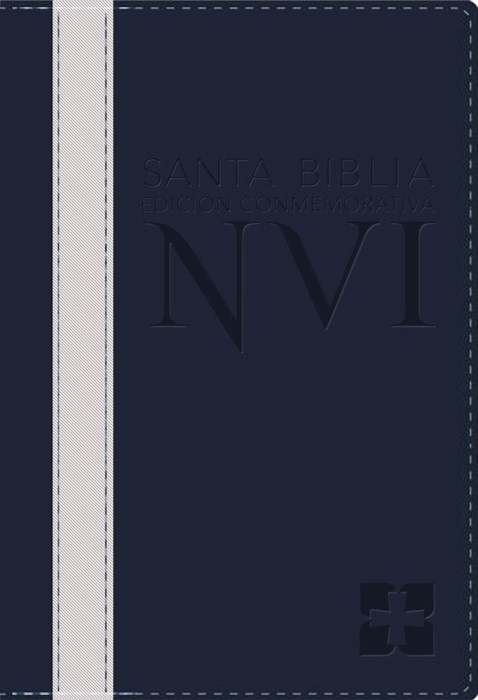 Santa Biblia Edicion Conmemorativa Nvi (Leather Binding)