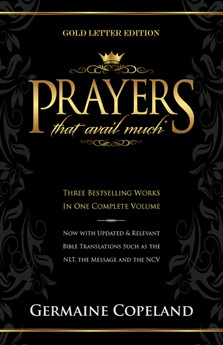Prayers That Avail Much Gold Letter (Paperback)