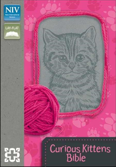 Curious Kittens Bible (Leather Binding)