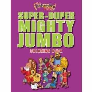 Beginner's Bible Super-Duper, Mighty, Jumbo Coloring Boo, T (Paperback)