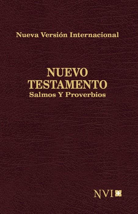 Nuevo Testamento, Salmos Y Proverbios Nvi De Bolsillo (Paperback)