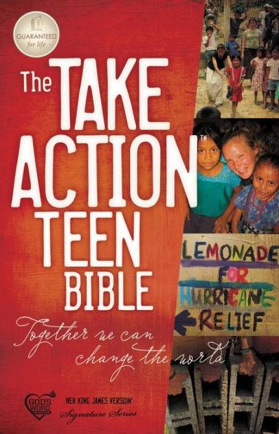 NKJV Take Action Teen Bible (Paperback)