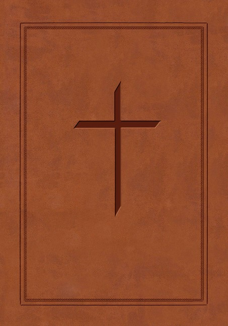 The ESV Ryrie Study Bible Brown Soft-Touch Red Letter (Leather Binding)