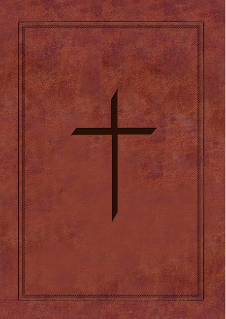NAS Ryrie Study Bible Soft-Touch Burgundy Red Letter Ind, Th (Leather Binding)