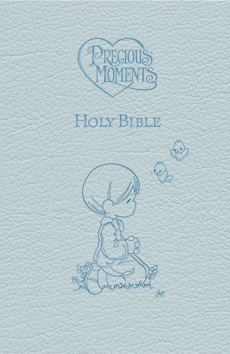 ICB Precious Moments Holy Bible - Blue Edition (Paperback)