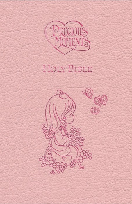 ICB Precious Moments Holy Bible - Pink Edition (Hard Cover)
