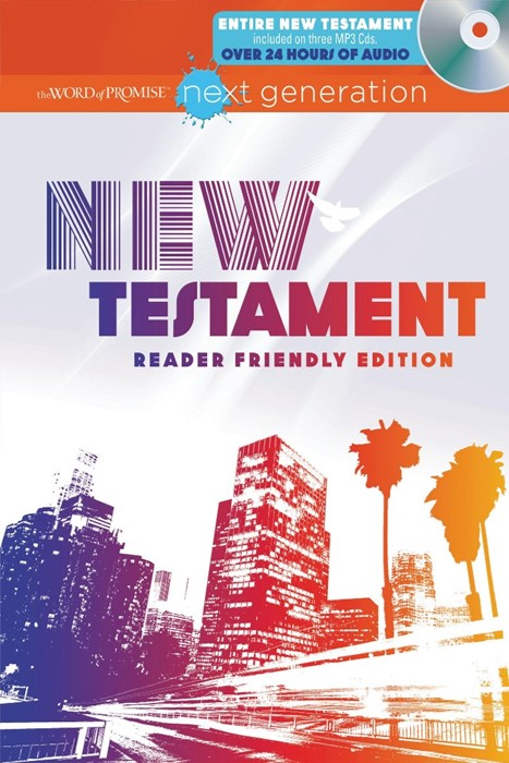 The Word Of Promise Next Generation Bible - New Testament (Hard Cover)
