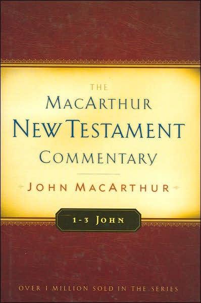 1-3 John: Macarthur New Testament Commentary (Hard Cover)