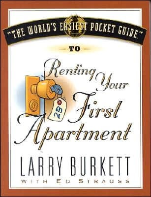 World's Easiest Pocket Guide To Renting Your First Apart, T (Paperback)