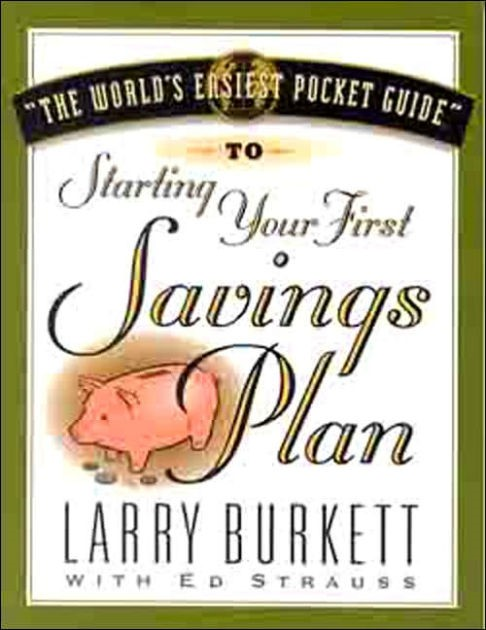 World's Easiest Pocket Guide To Your First Savings Plan, Th (Paperback)