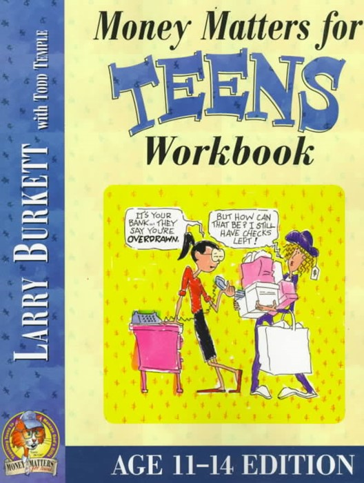 Money Matters Workbook For Teens (Ages 11-14) (Paperback)