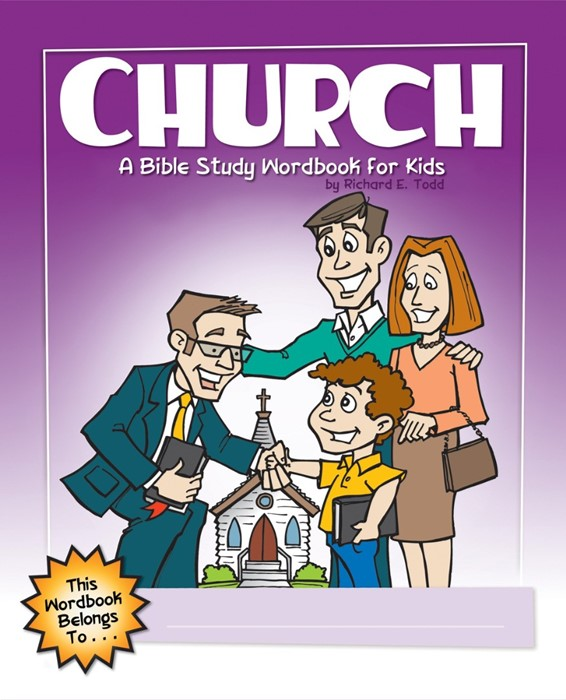 Church: A Bible Study Wordbook For Kids (Paperback)
