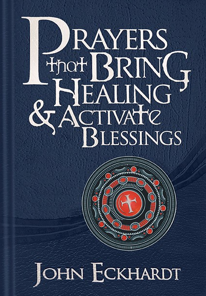 Prayers That Bring Healing And Activate Blessings (Leather Binding)