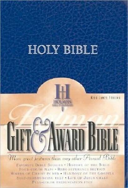 KJV Gift & Award Bible, Blue Imitation Leather (Imitation Leather)