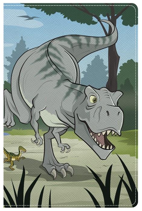 NKJV Study Bible For Kids, Dinosaur Leathertouch
