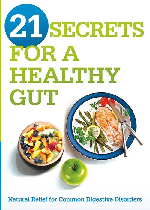 21 Secrets For A Healthy Gut (Paperback)