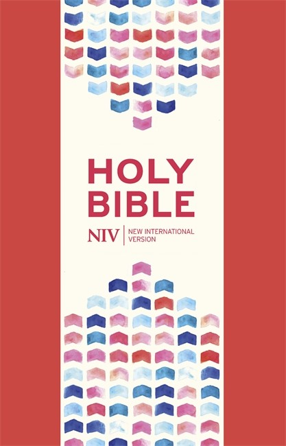 NIV Thinline Coral Pink Soft-Tone Bible With Zip (Flexiback)