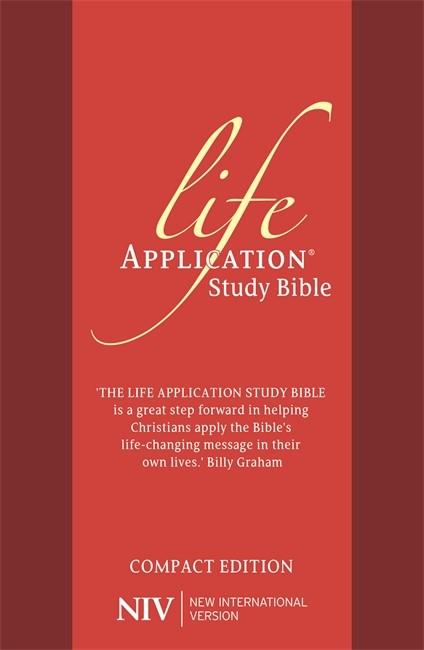 NIV Compact Life Application Study Bible (Anglicised) (Flexiback)
