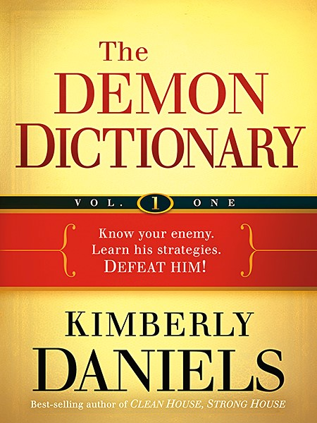 The Demon Dictionary Volume One (Paperback)