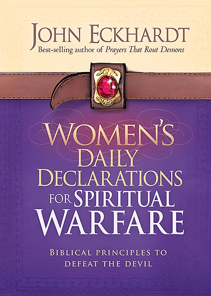 Women's Daily Declarations For Spiritual Warfare (Hard Cover)