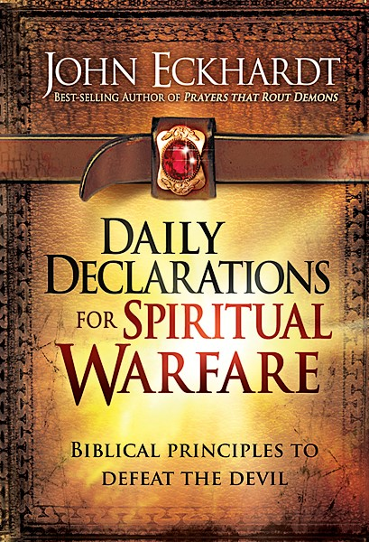 Daily Declarations For Spiritual Warfare (Hard Cover)