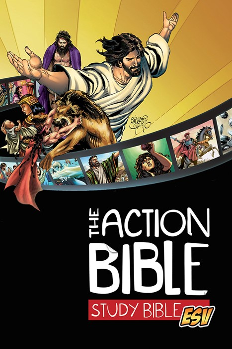ESV Action Bible Study Bible, HB (Hard Cover)