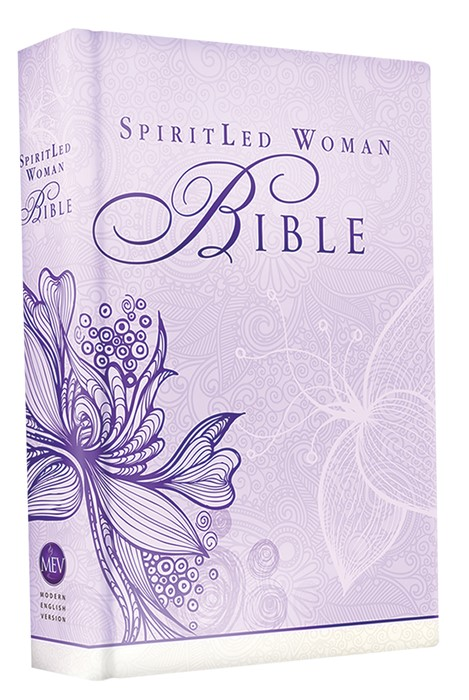 MEV Spiritled Woman Bible (Lavender) (Hard Cover)