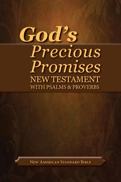 NASB God's Precious Promises New Testament (Leather Binding)