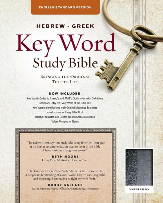 The ESV Hebrew-Greek Key Word Study Bible (Leather Binding)