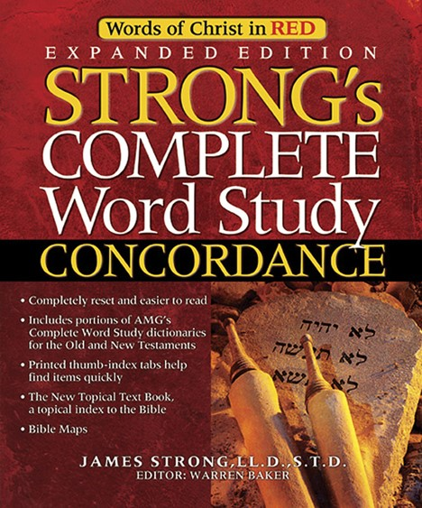 Strong'S Complete Word Study Concordance (Mixed Media Product)