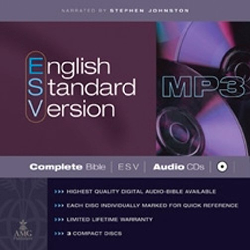 ESV Complete Bible On Mp3 Cds (CD-Audio)
