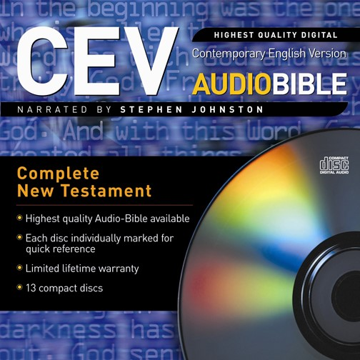 Cev New Testament Audio Cds (CD-Audio)