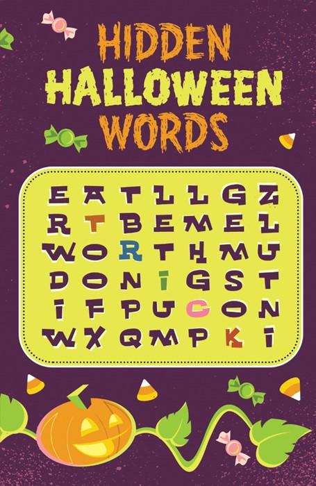 Hidden Halloween Words (Pack Of 25) (Tracts)