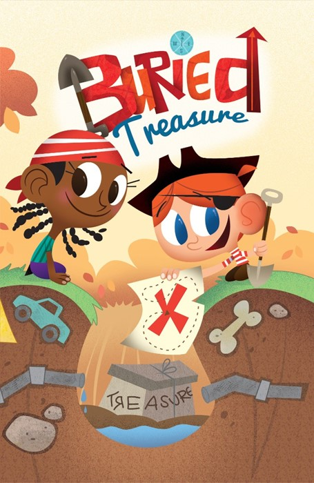Buried Treasure (Pack Of 25) (Tracts)