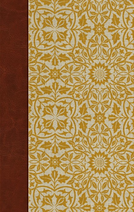 ESV Large Print Personal Size Bible, Sunflower (Hard Cover)