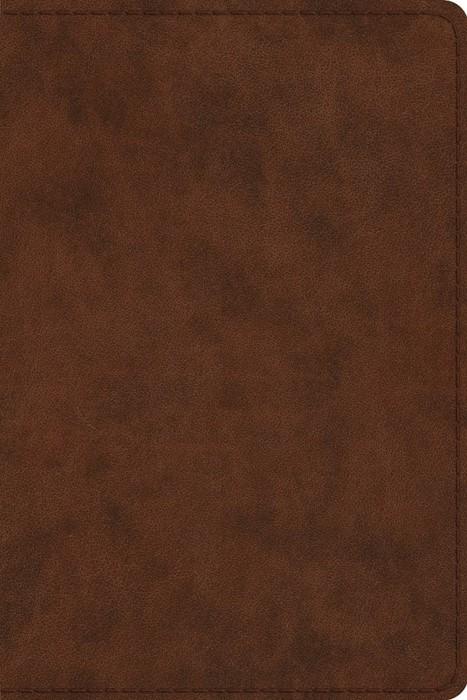 ESV Study Bible, Personal Size, Trutone, Brown (Imitation Leather)