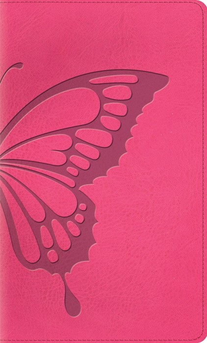 ESV Kid's Thinline Bible, Trutone, Butterfly Blush (Imitation Leather)