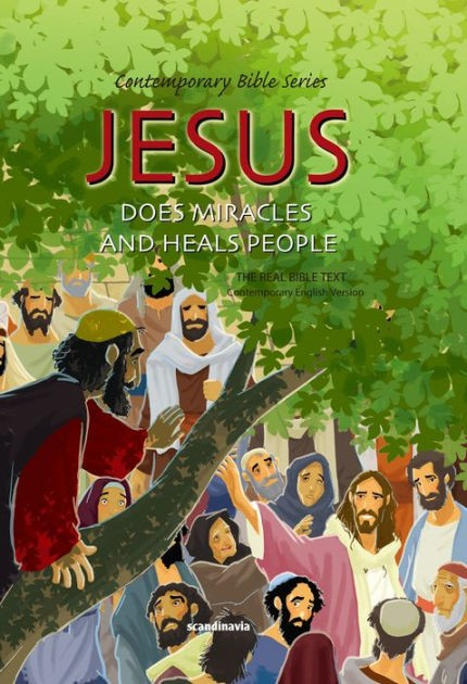 Jesus Does Miracles And Heals People (Hard Cover)