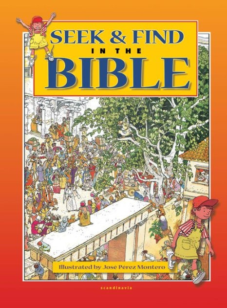 Seek And Find In The Bible (Hard Cover)