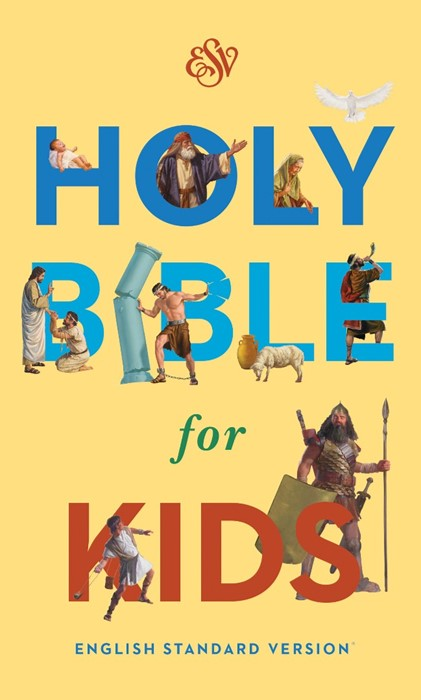 ESV Holy Bible For Kids (Hard Cover)