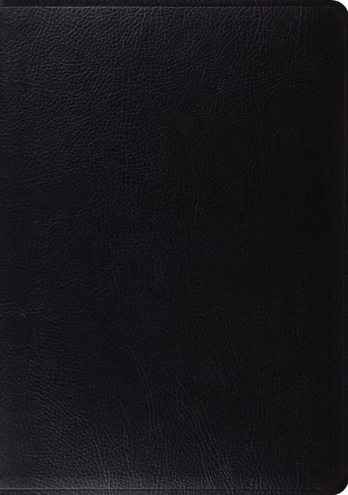 ESV Study Bible (Black) (Leather Binding)