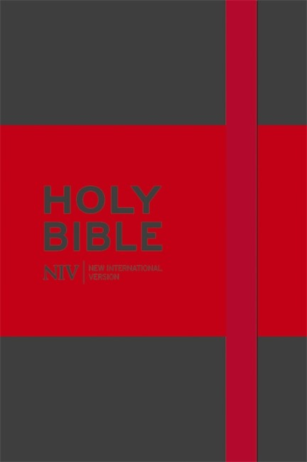 NIV Pocket Grey Notebook Bible (Hard Cover)