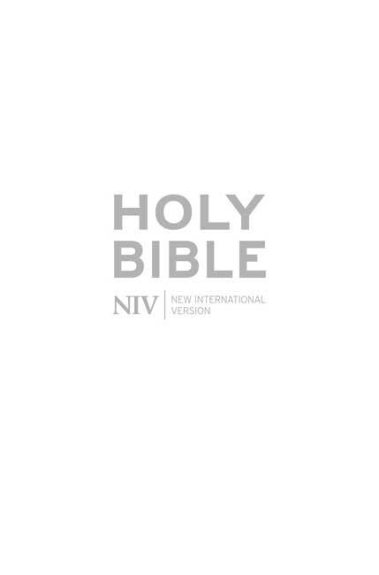 NIV Pocket White Gift Bible (Hard Cover)